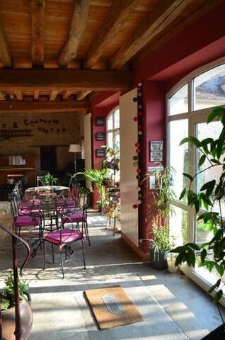 Chambre  Montfaucon chez un Authentique Vigneron