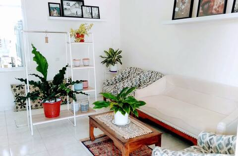 A lovely room in peaceful coastal side of Makassar