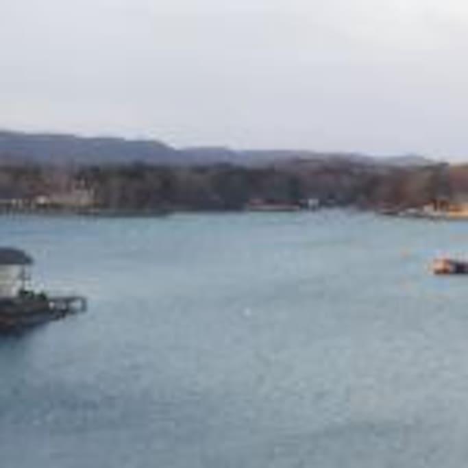 View from Balcony Lake Hamilton