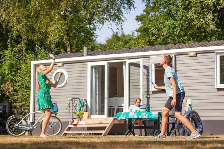 Camping Beloofde Land - chalet 90F op de Veluwe