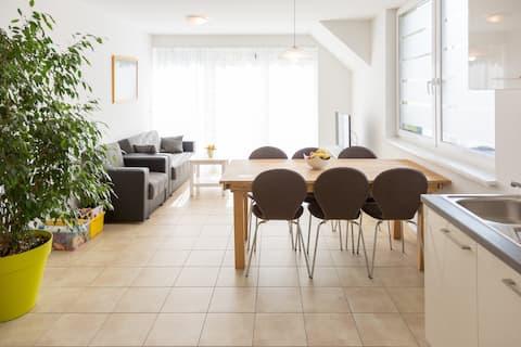 New 100 qm apartment - 3 sleeping rooms & terrace