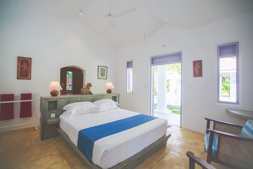 VADOR VILLA Honeymoon suite (double bed) tariff for two guests on a bed-and –breakfast basis.