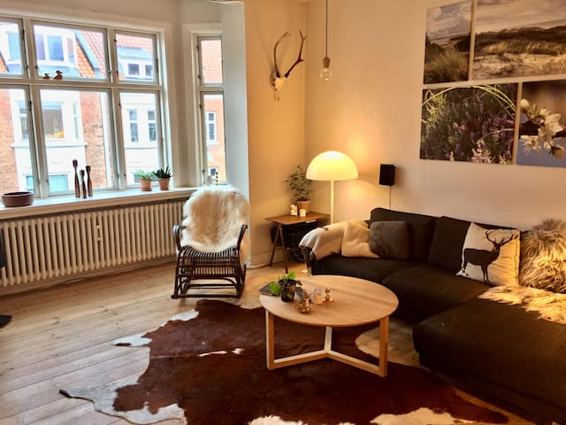 Romantic and rustic apartment, in downtown Aarhus - Aarhus