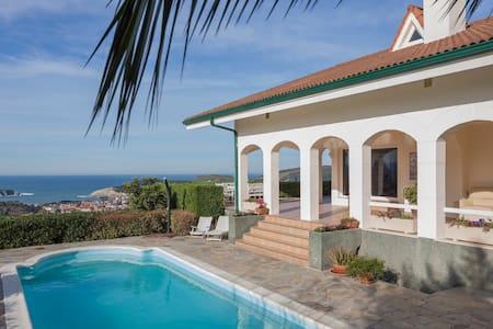 Seascape: Dreamsite spectacular ocean view!L-BI-70 - Plencia - House - 1