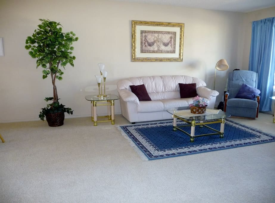 Front room, nice open and bright!