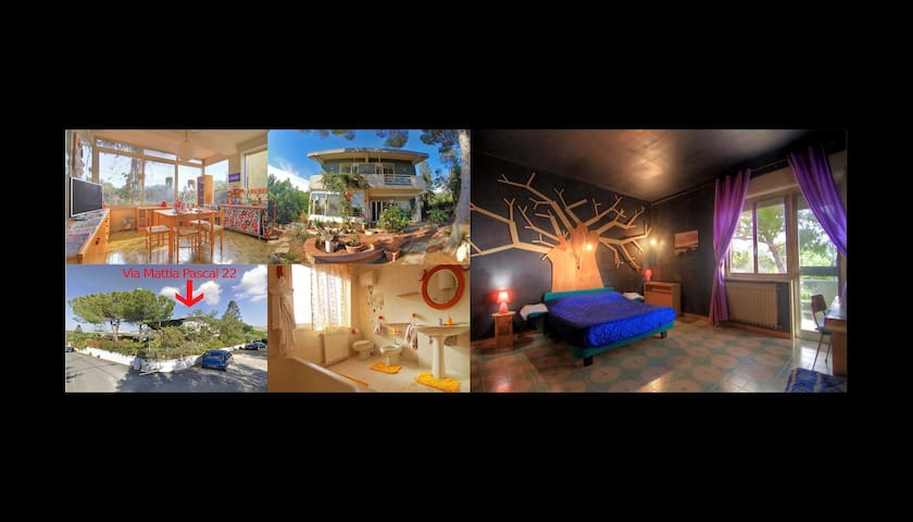 BlueRoom - Temples/kitchen/Wifi/Transports - agrigento