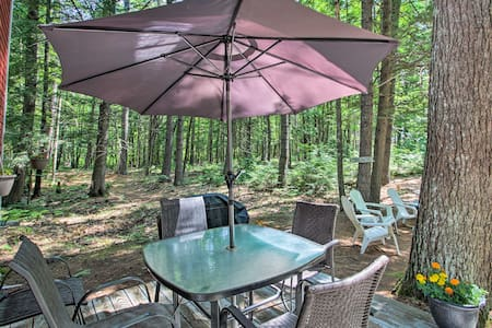 Quiet & Remote Waterfront Cottage on Panther Pond!