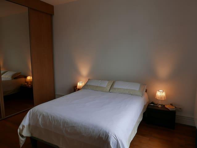 Chambre cosy et accueillante à 18 minutes de Paris - Maisons-Laffitte