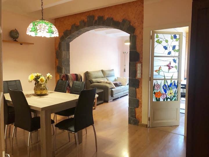Un apartamento con encanto en Bagà