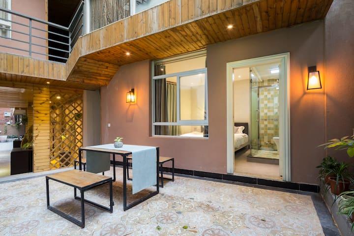 靠近黄厝海滨浴场,庭院花园小资轻奢,双人大床房,GL06 - Xiamen - Minsu (Taïwan)