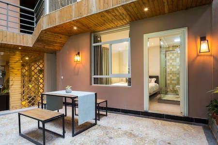 靠近黄厝海滨浴场,庭院花园小资轻奢,双人大床房,GL06 - Xiamen - Minsu (Tajwan)