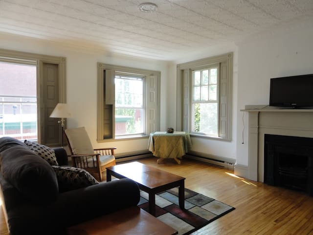 Historic Brick Row House 3rd floor - Portland - Appartement