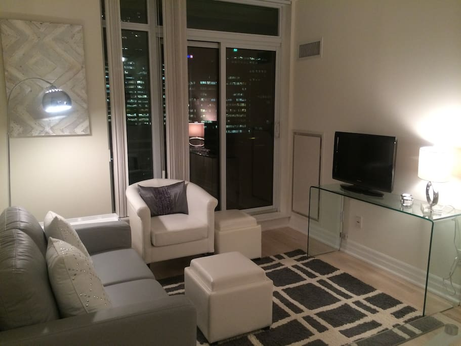Living RoomArea with walk out to Balcony with unobstructed city views to the south