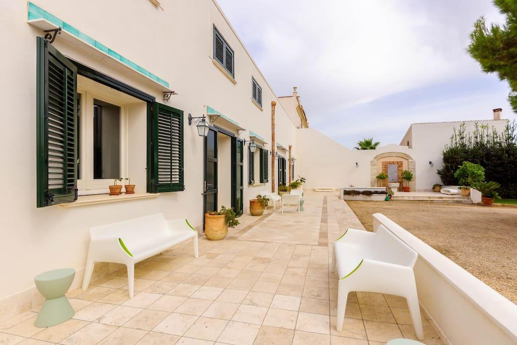 Suite della nonna villas for rent in trapani trapani italy for Planimetrie e prezzi della cabina di log