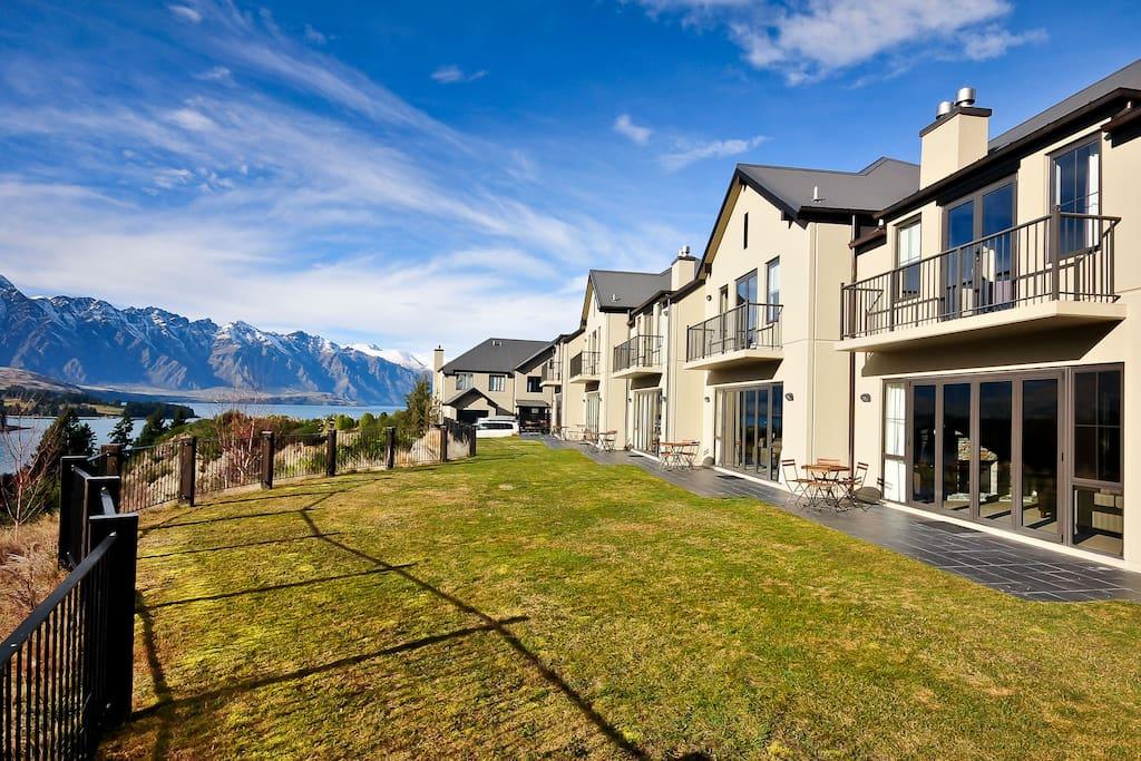 Alpine view villa villas louer queenstown otago - La villa rahimona en nouvelle zelande ...