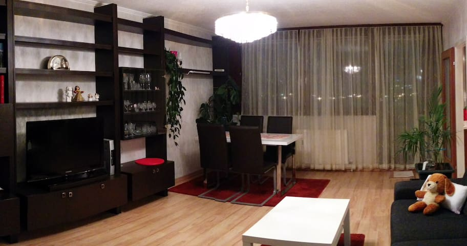 Studio with panoramic view and public connections - Vienna - Lakás