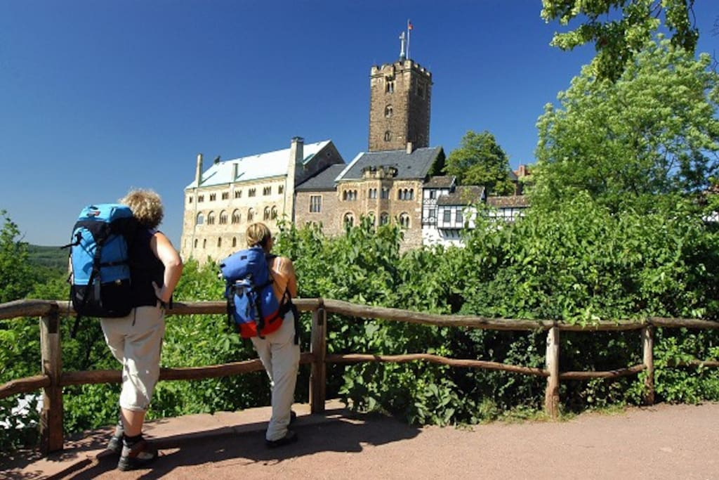"""""""Die Wartburg"""" in Eisenach"""