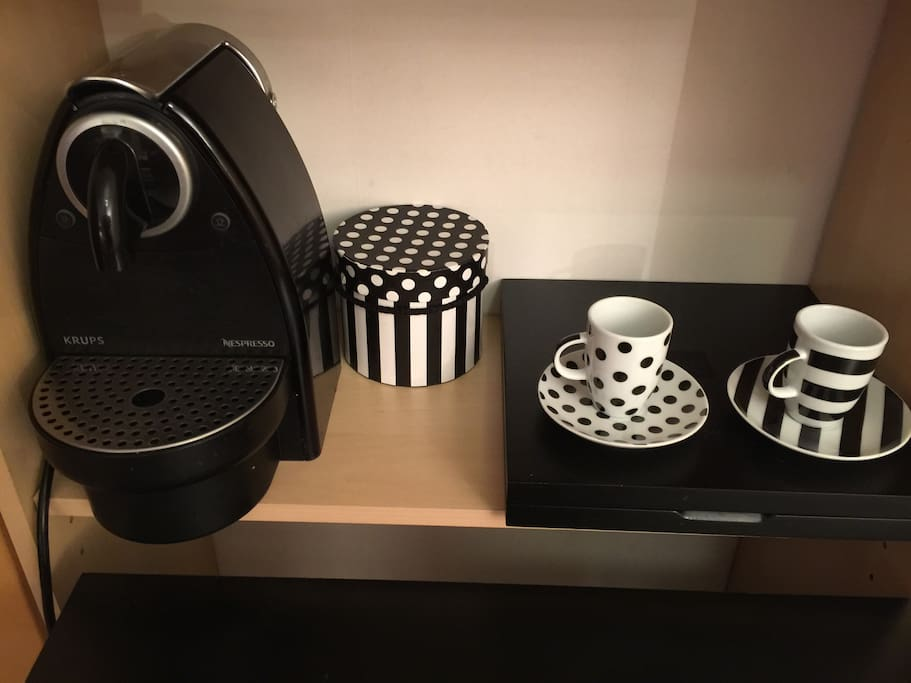 Nespresso machine available in the room & tea amenities upon request