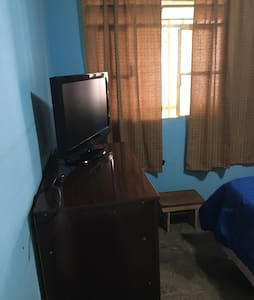 Quarto suite ambiente familiar sejam bem vindos!