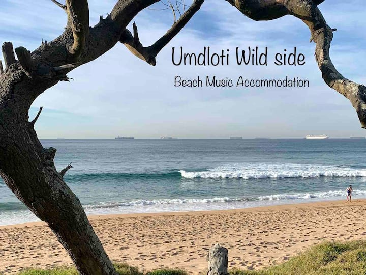 BEACH MUSIC🌴South Beach🏖Seaview & garden, king beds