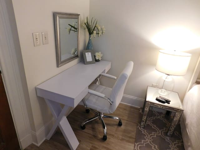 Desk and Chair in Suite