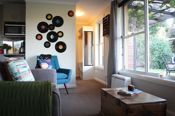 Funky retro furnishings add to the  experience