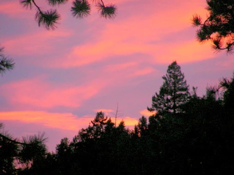 Sunrise in Evergreen