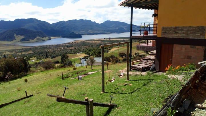 Habitaciones en Cabaña El Mirador Neusa