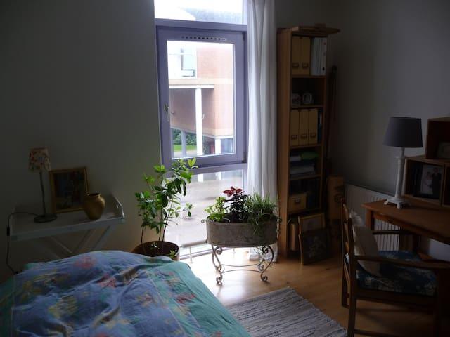 Stort, lyst værelse i dejligt område.