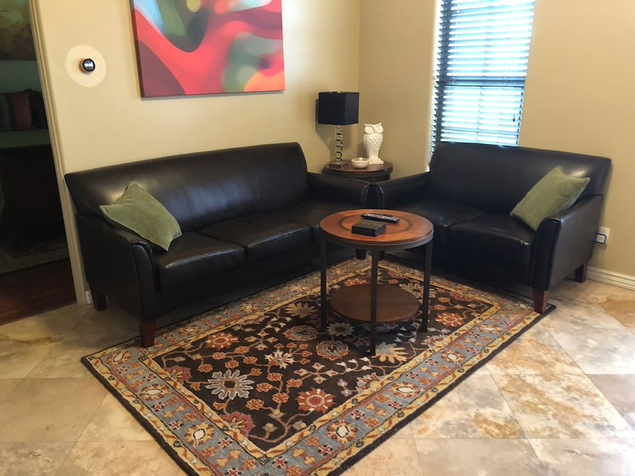 living/couch sleeps one