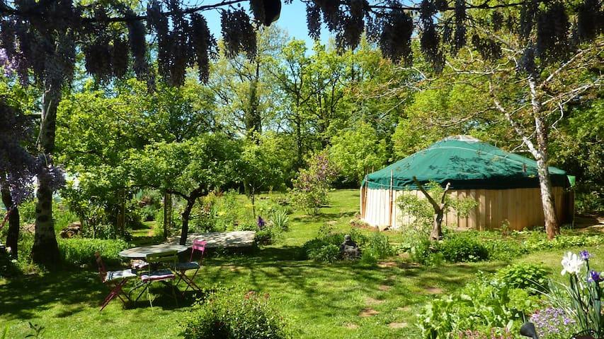 Yourte dans le coeur des Gorges de L'Aveyron - Saint-Antonin-Noble-Val - Jurta