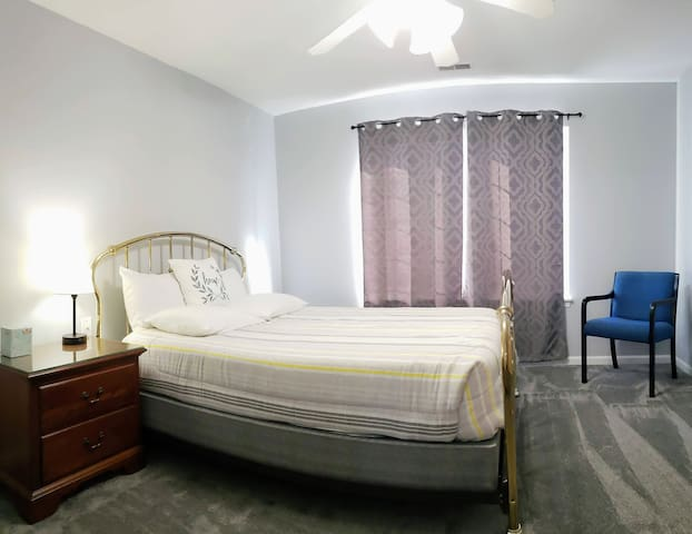 2nd Bedroom with Brass Bed