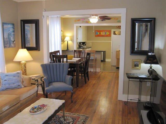 Cozy Mid-Century Modern  Cottage