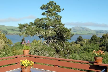 Captain's Cabin - Tomales Bay views - Inverness
