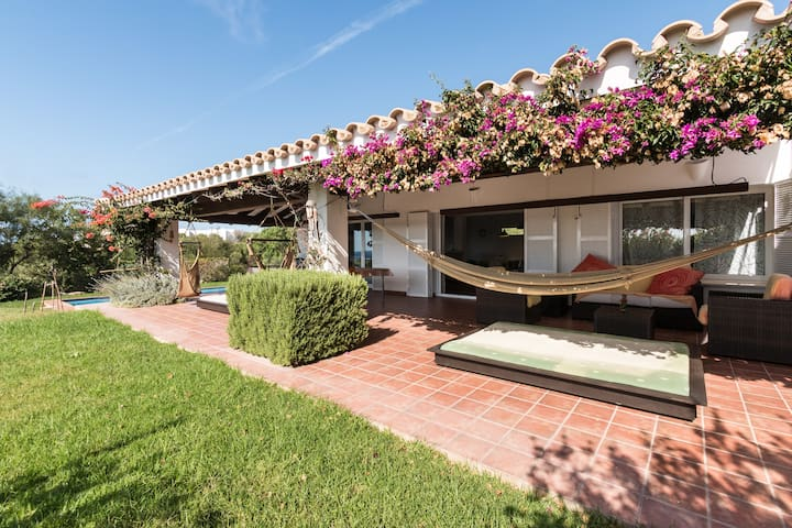 Exclusive villa+pool 200m from sea - Sant Lluís - House