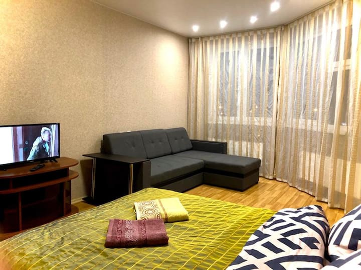 Однокомнатная квартира 4 спальных места