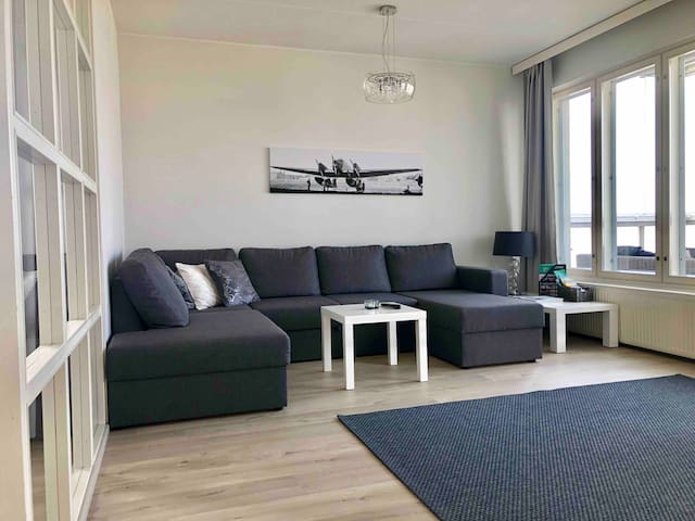 73m2 Top floor apartment with balcony and sea view