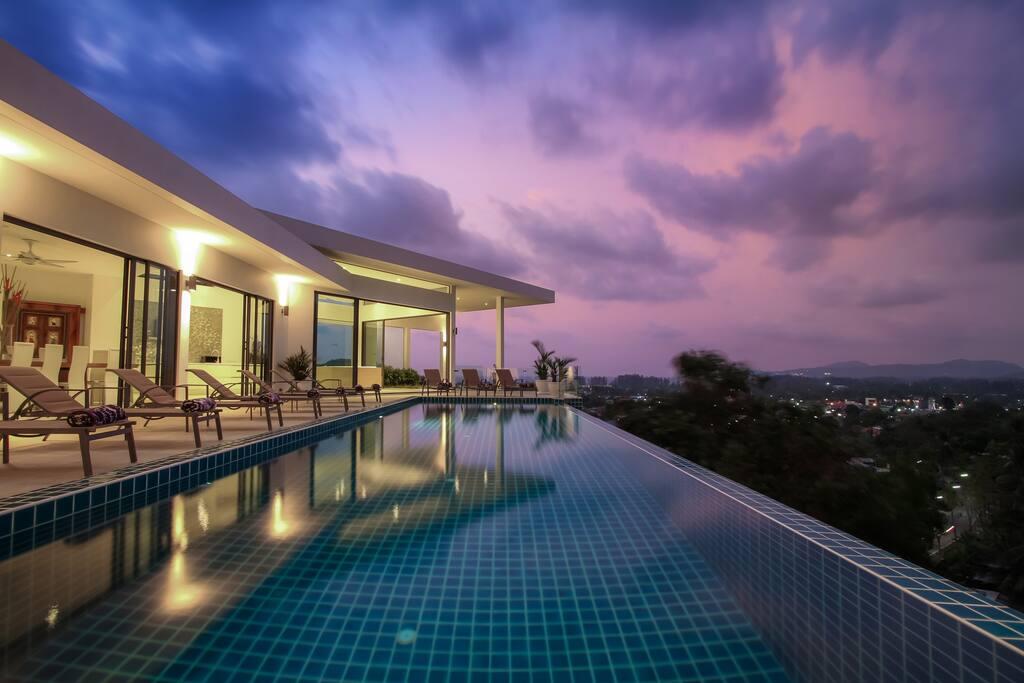 14 metre swimming pool