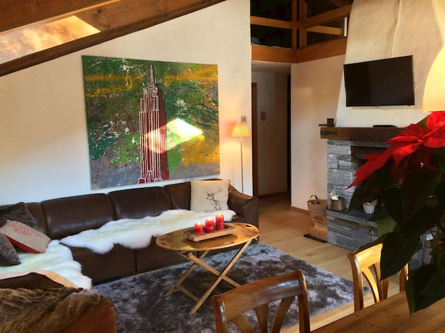 Close to Gstaad Luxury Chaletappartment