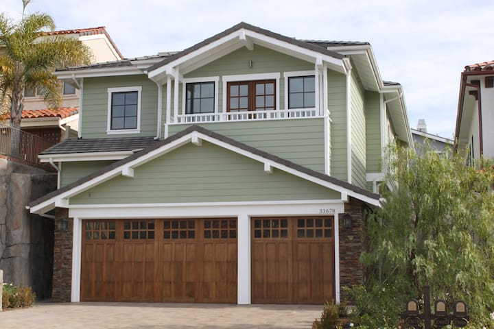 Brand new craftsman style home - Dana Point