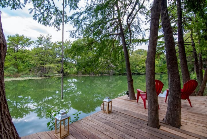 River Retreat In The Heart of Kerrville