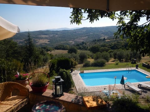 Stunning Views in Rural Umbria