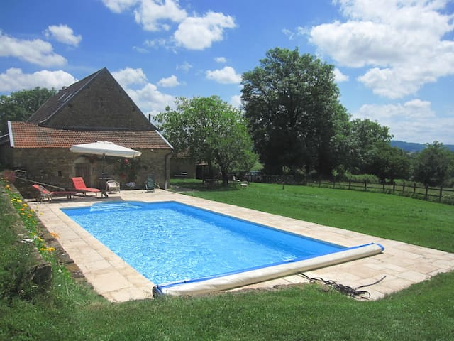Nice cottage South Burgundy France - Vareilles - Casa