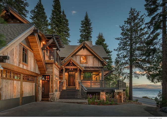 Mountain modern lakeview with private pier & buoy - Homewood - Casa