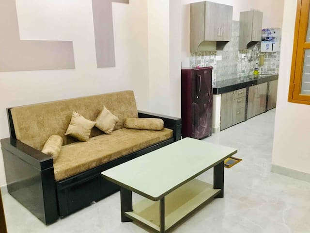 Living Room with Centre Table & Sofa