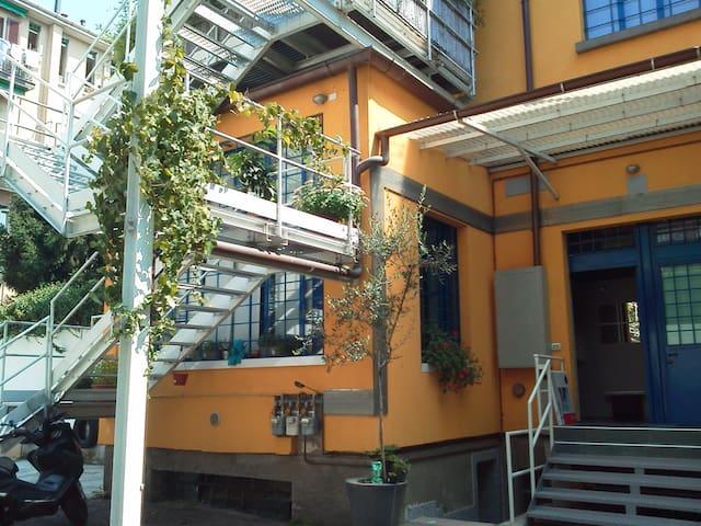 Two floor free parking & bikes - Milano - Loft