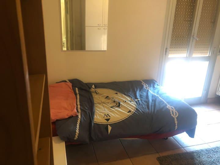 La camera dell'ospite