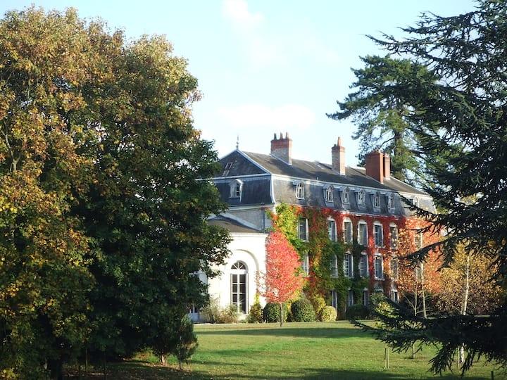 Chateau du Vau, chambre au château