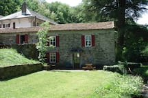 Outside of the Limoux Gite / Cottage