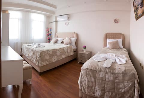 3+1 big apartment for families near to Blue Mosque